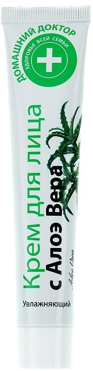 Feuchtigkeitsspendende Gesichtscreme mit Aloe Vera - Hausarzt — Bild N1