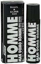 Düfte, Parfümerie und Kosmetik Omerta Black & Silver Man - Eau de Toilette