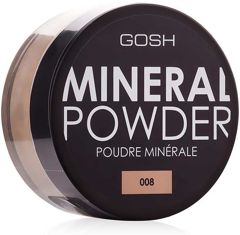 Mineralpuder für das Gesicht - Gosh Mineral Powder