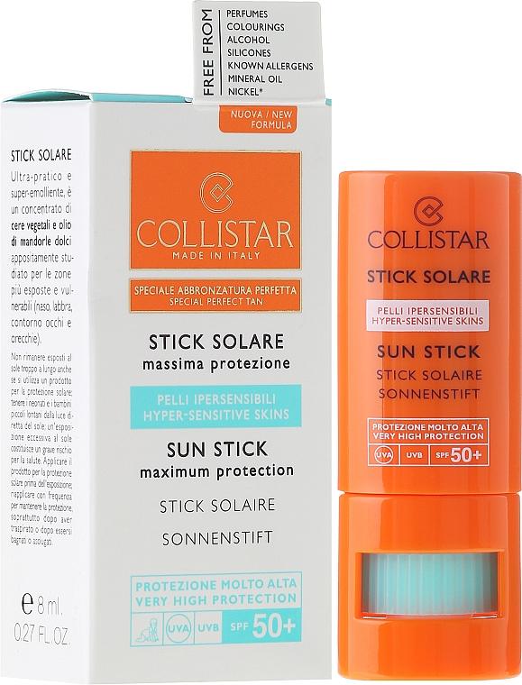 Sonnenschutz-Stick für empfindliche Bereiche SPF 30 - Collistar Sun Stick SPF 50+