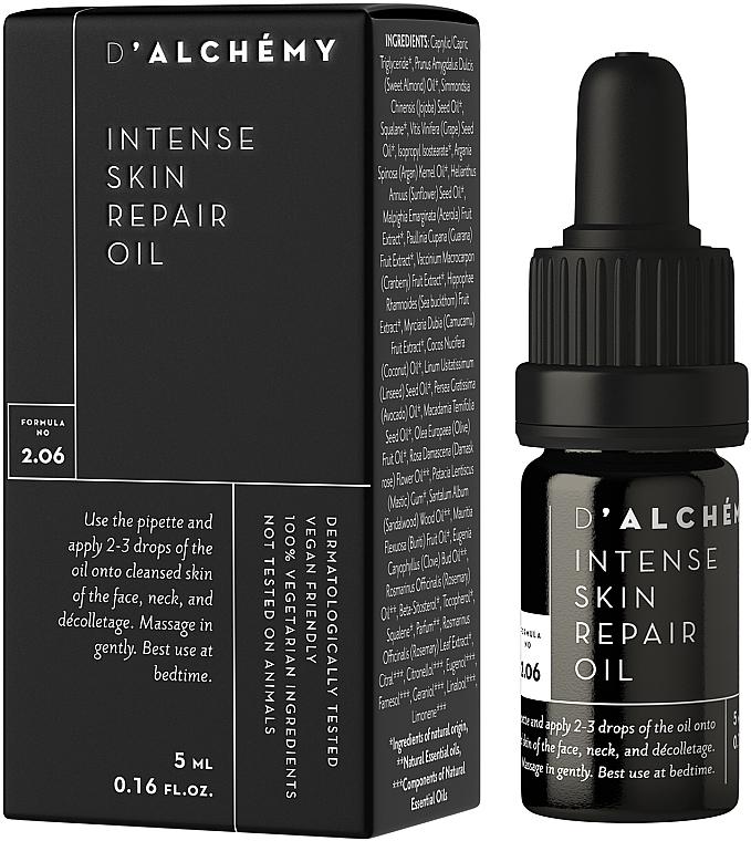 Intensiv regenerierendes Gesichtsöl - D'Alchemy Intense Skin Repair Oil