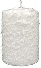 Düfte, Parfümerie und Kosmetik Dwekorative Kerze weiß 7,5x14 cm - Artman Christmas Candle White