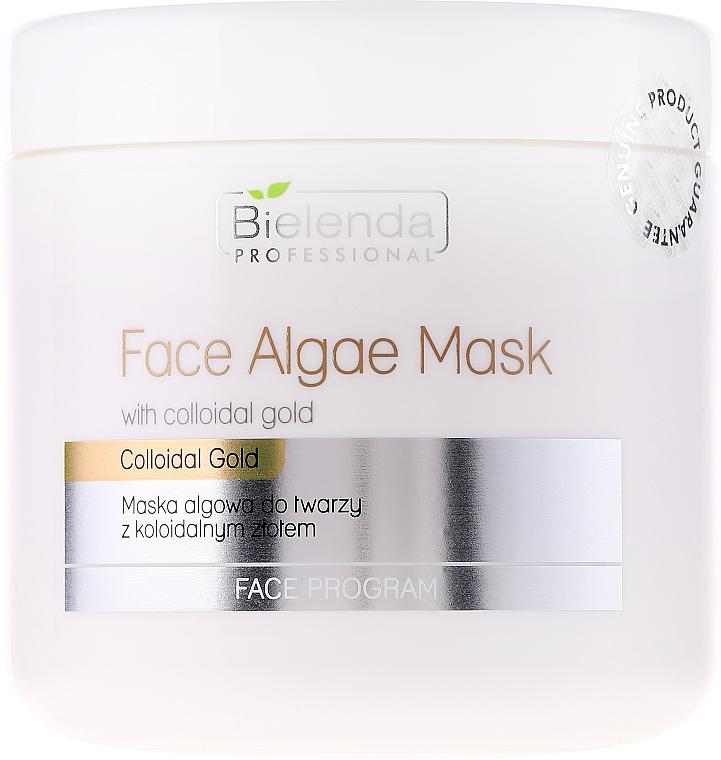 Algen-Gesichtsmaske mit kolloidalem Gold - Bielenda Professional Face Algae Mask