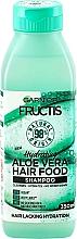 Düfte, Parfümerie und Kosmetik Feuchtigkeitsspendendes Shampoo mit Aloe Vera - Garnier Fructis Aloe Vera Hair Food Shampoo