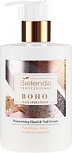 Düfte, Parfümerie und Kosmetik Feuchtigkeitsspendende Hand- und Nagelcreme - Bielenda Professional Nailspiration Boho Moisturising Hand & Nail Cream