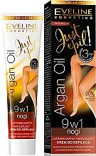 Düfte, Parfümerie und Kosmetik Enthaarungscreme 9in1 mit Arganöl - Eveline Cosmetics Argan Oil