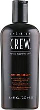 Düfte, Parfümerie und Kosmetik Antischuppen + Sebum Control Shampoo - American Crew Anti Dandruff+Sebum Control Shampoo