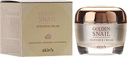 Düfte, Parfümerie und Kosmetik Feuchtigkeitsspendende Anti-Falten Gesichtscreme mit Schneckenextrakt - Skin79 Golden Snail Intensive Cream