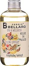 Düfte, Parfümerie und Kosmetik Massageöl mit Ananas, Trauben und Acai-Beere - Fergio Bellaro Massage Oil