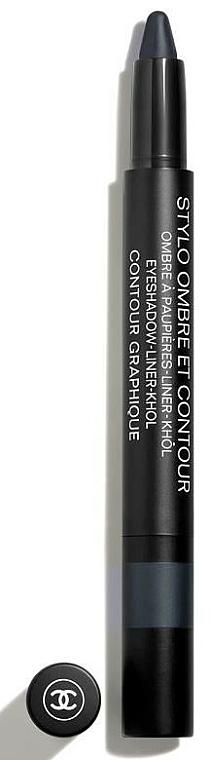 3 in 1 Lidschatten, Eyeliner und Kajalstift langlebig - Chanel Stylo Ombre Et Contour