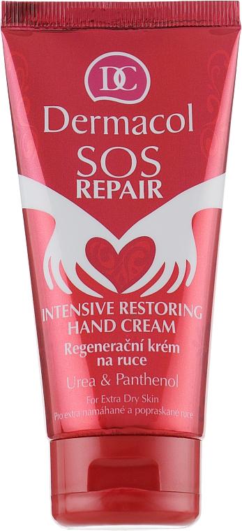 Regenerierende Handcreme mit Panthenol und Harnstoff - Dermacol SOS Repair Hand Cream