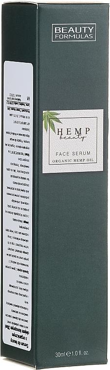 Gesichtsserum mit Hanföl - Beauty Formulas Hemp Beauty Face Serum