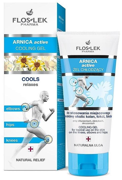 Kühlendes Gel für Knie, Ellbogen und Hüften - Floslek Arnica Active Cooling Gel