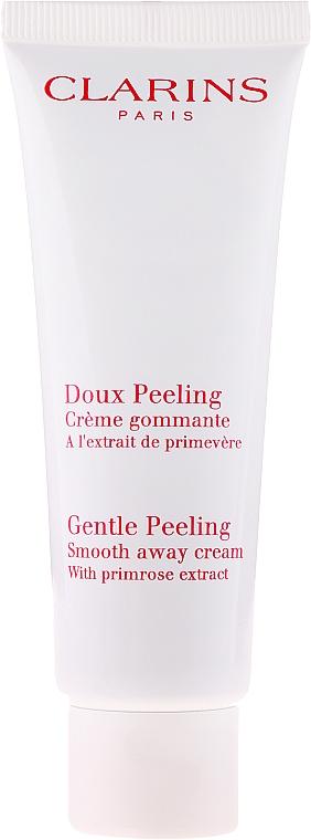 Sanfte Gesichtspeeling-Creme mit Primelextrakt - Clarins Gentle Peeling Smooth Away Cream — Bild N2