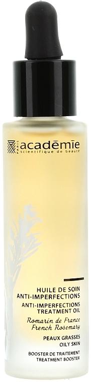Gesichtspflegeöl gegen Unvollkommenheiten für fettige Haut mit französischem Rosmarin - Academie Huile de soin anti-imperfections