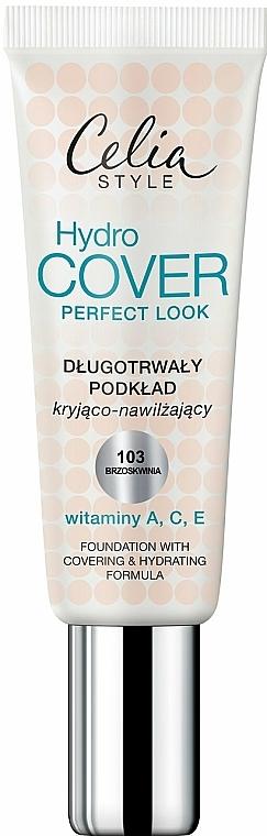 Feuchtigkeitsspendende Grundierung mit Vitaminen A, C und E - Celia Hydro Cover Perfect Look