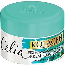 Düfte, Parfümerie und Kosmetik Feuchtigkeitsspendende Anti-Falten Gesichtscreme für normale und Mischhaut - Celia Collagen Cream