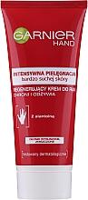 Düfte, Parfümerie und Kosmetik Regenerierende Handcreme mit Alantonin für sehr trockene Haut - Garnier Intensive Care Very Dry Skin Regenerating Hand Cream