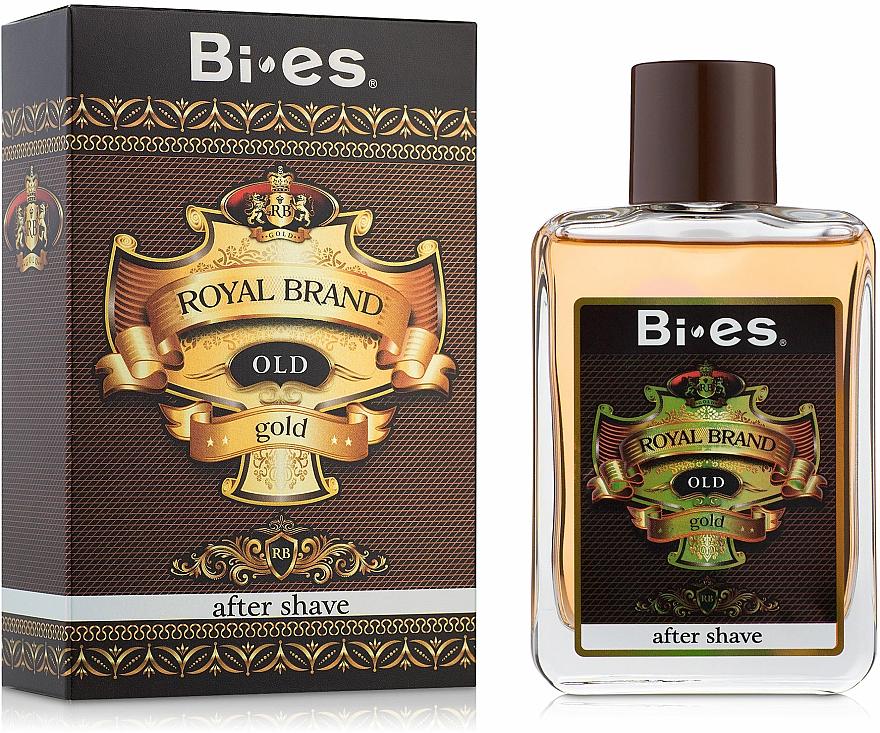 Bi-Es Royal Brand Gold - After Shave