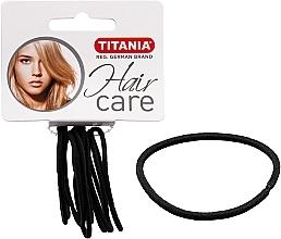 Düfte, Parfümerie und Kosmetik Haargummis 9 St. schwarz 2 mm - Titania