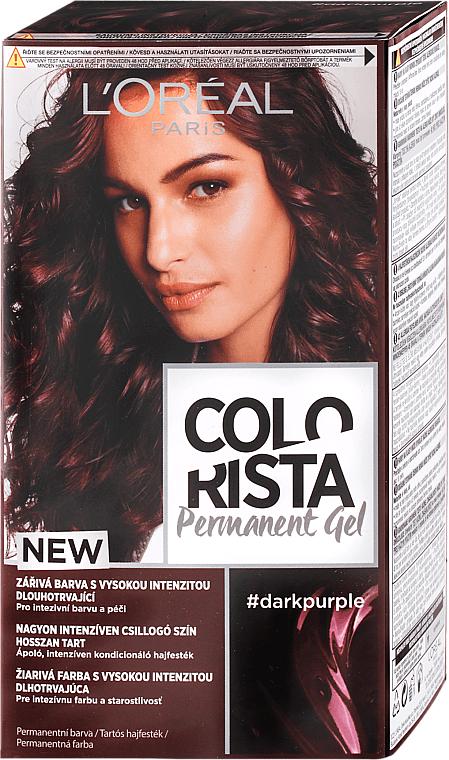 Permanente Gel-Haarfarbe - L'Oreal Paris Colorista Permanent Gel