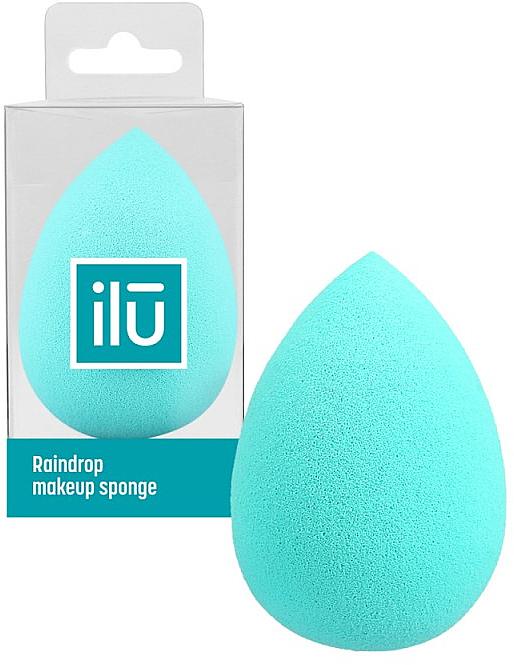 Schminkschwamm türkis - Ilu Sponge Raindrop Turquoise