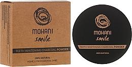 Düfte, Parfümerie und Kosmetik 100% Natürliches bleichendes Zahnpulver mit Holzkohle - Mohani Smile Teeth Whitening Charcoal Powder