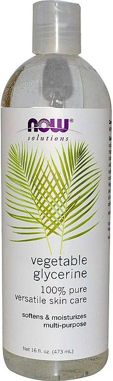100% Reines pflanzliches Glyzerin - Now Foods Solution Vegetable Glycerine