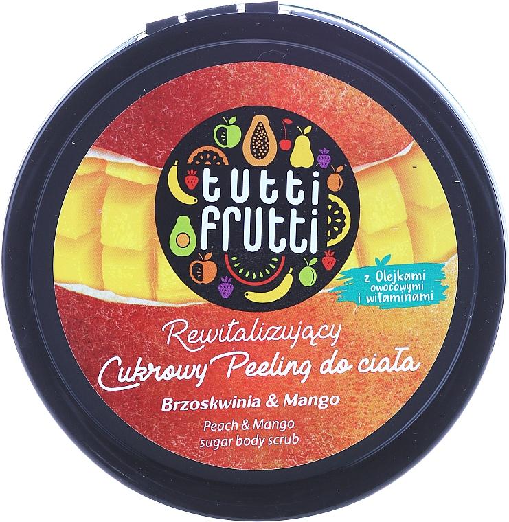 Zucker-Körperpeeling mit Pfirsich und Mango - Farmona Tutti Frutti Sugar Scrub