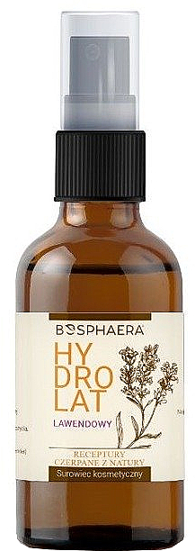 Beruhigendes und antioxidatives Hydrolat mit Lavendel - Bosphaera Hydrolat
