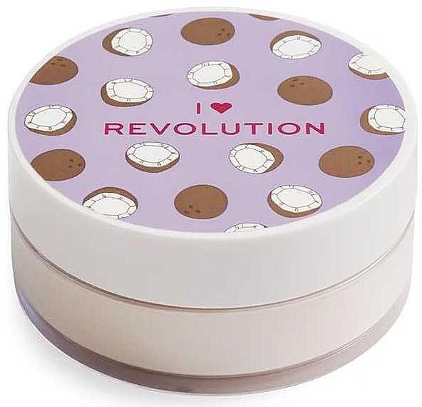 Loser Gesichtspuder Kokosnuss - I Heart Revolution Loose Baking Powder Coconut