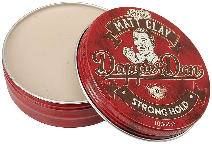 Modellierende Haarpaste mit Matt-Effekt - Dapper Dan Matt Clay