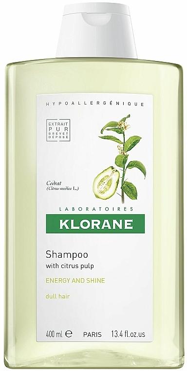 Energetisierendes Shampoo mit Zitrusfrüchten - Klorane Shampoo With Citrus Pulp