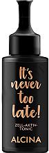 Düfte, Parfümerie und Kosmetik Porenverfeinerndes Gesichtsserum gegen Falten und Pigmentflecken - Alcina It's Never Too Late Zell-Aktiv Tonic