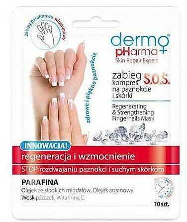 Regenerierenden Nagelkur - Dermo Pharma Skin Repair Expert S.O.S. Regenerating& Strengthening Fingernails Mask