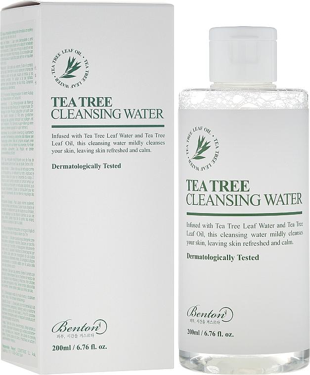 Reinigendes Gesichtswasser mit Teebaumextrakt - Benton Tea Tree Cleansing Water