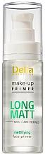 Düfte, Parfümerie und Kosmetik Mattierende Make-up Base - Delia Cosmetics Long Matt Make Up Primer