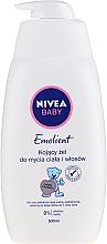 Düfte, Parfümerie und Kosmetik Beruhigendes Duschgel für Körper & Haar von Babys - Nivea Baby Pure & Sensitive Emolient