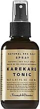 Düfte, Parfümerie und Kosmetik Haarspray mit Meersalz - Triumph & Disaster Karekare Tonic Salt Spray