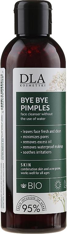 Gesichtsreinigungswasser gegen Akne ohne Ausspüllen - DLA