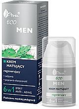 Düfte, Parfümerie und Kosmetik 6in1 Mattierende und regenerierende Gesichtscreme - Ava Laboratorium Eco Men Cream