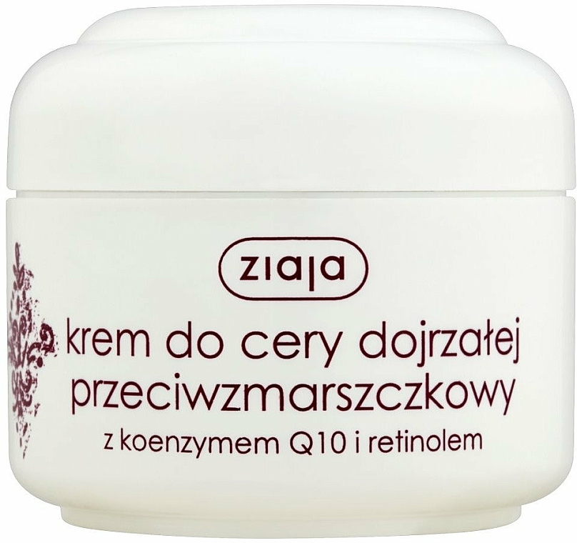 Anti-Falten Gesichtsreme mit Coenzym Q10 und Retinol - Ziaja Face Cream
