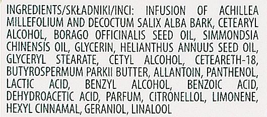 Nachtcreme gegen Mitesser und Pickel mit Weiden und Schafgarben - DLA — Bild N4
