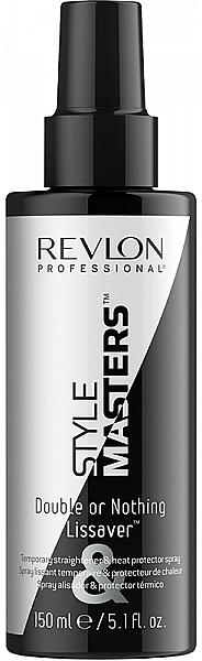 Hitzeschutzspray für alle Haartypen - Revlon Professional Style Masters Double or Nothing Endless Lissaver — Bild N1