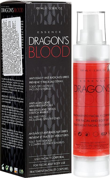 Gesichts- und Körperessenz gegen Falten und freie Radikale - Diet Esthetic Dragon Blood Essence