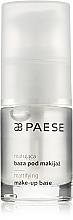 Düfte, Parfümerie und Kosmetik Mattierende Make-up Base - Paese Make-Up Base