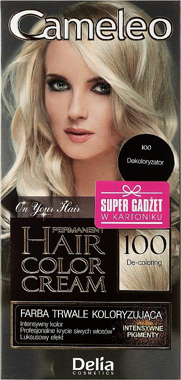 Haarentfärber N100 - Delia Cameleo De-Coloring Cream