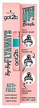Düfte, Parfümerie und Kosmetik Fixierende Mascara zum Haarstyling - Schwarzkopf Got2b Bye Bye Flayaways Touch Up Brush