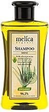Düfte, Parfümerie und Kosmetik Shampoo mit Weizenprotein und Aloe-Extrakt - Melica Organic Shine Shampoo