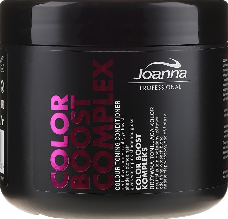 Revitalisierender Conditioner für blonde und graue Haare gegen Gelbstich - Joanna Professional Color Boost Complex Conditioner